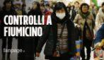 Virus cinese: controlli su 202 passeggeri atterrati a Fiumicino da Wuhan, epicentro del contagio