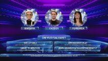 Grande Fratello VIP - Le Nomination della sesta puntata