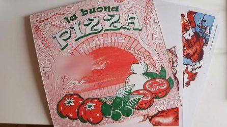 Come riutilizzare il cartone della pizza in maniera originale