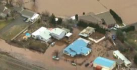 L'inondazione è spaventosa: le immagini dall'alto