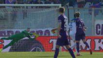 Fiorentina-Atalanta, il gol di Federico Chiesa
