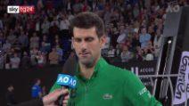 Australian Open, Djokovic ricorda Kobe Bryant