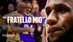 """Morte Kobe Bryant, LeBron James: """"Ho il cuore a pezzi, fratello mio. Raccoglierò la tua eredità"""""""