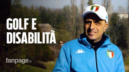 """Golf e disabilità, la storia di Raffaele: """"Ho fatto una scommessa con me stesso e l'ho vinta"""""""