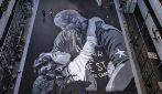 Lo splendido murale per Kobe Bryant e la figlia Gianna