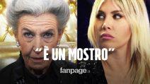 """Barbara Alberti insulta Wanda Nara in diretta al Grande Fratello Vip: """"È un mostro"""""""