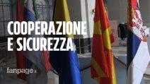 """Vertice Balcani - Italia sulla sicurezza, Crimi: """"Il nostro aiuto su terrorismo e criminalità"""""""