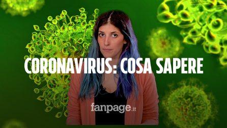 Coronavirus in Italia: cosa c'è da sapere su sintomi, rischi e stato di emergenza