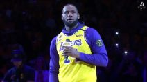 """""""Vivrai per sempre fratello"""", il commovente saluto di Lebron James a Kobe Bryant"""