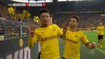 Bundesliga: Borussia Dortmund-Union Berlino 5-0, Haaland ancora in gol