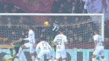 Dzeko, al Sassuolo il 100esimo gol con la Roma