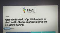 Grande Fratello VIP - Il presunto tradimento ai danni di Antonella Elia