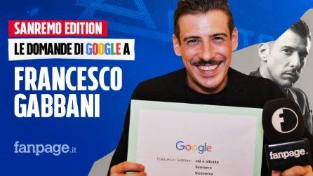 Francesco Gabbani, Sanremo, Viceversa, fidanzata: il cantante risponde alle domande di Google