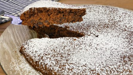 Crazy cake: just pour all the ingredients in a cake pan!