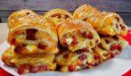 Panini di pasta sfoglia ripieni: ideali per antipasti o aperitivi