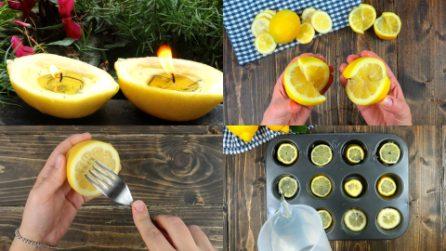 Ecco come usare un limone in modo geniale!