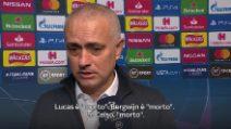 """Mourinho difende i suoi: """"Ma siamo in grande difficoltà"""""""
