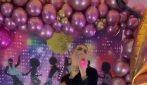 Ilary Blasi si traveste come Achille Lauro a Sanremo 2020