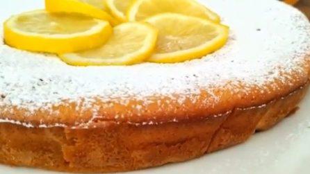 Torta al limoncello: la ricetta del dessert profumato e soffice