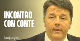 """Renzi: """"Chiederò incontro a Conte, non vogliamo rompere ma telenovelas devono finire"""""""