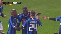 Europa League: Ludogorets-Inter, Lukaku raddoppia su rigore