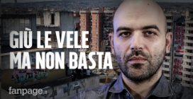"""Roberto Saviano e le Vele: """"Per guarire Scampia non serve solo abbatterle. Napoli ancora agonizzante"""""""