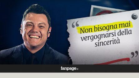 """Tiziano Ferro a 40 anni ha trovato la felicità: """"Non bisogna mai vergognarsi della sincerità"""""""