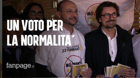 """Napoli, Elezioni suppletive, Napolitano (M5S) con Toninelli: """"I napoletani ci chiedono di avere normalità"""""""