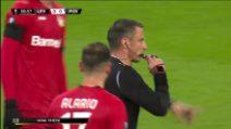 Europa League: Leverkusen-Porto, primo gol tedesco assegnato col Var