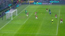 Inter-Milan: Vecino pareggia il derby, suo il gol del 2-2