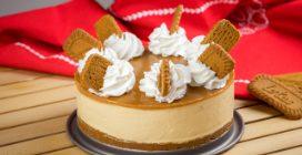 Cheesecake de caramelo: alta, cremosa e irresistível!
