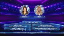 Serena Enardu e Licia Nunez al televoto