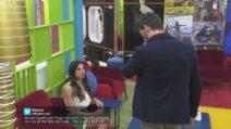 Lite tra Pago e Serena Enardu durante la diretta del GF Vip