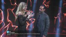 Adriana Volpe incontra Pietro, il compagno di Antonella Elia