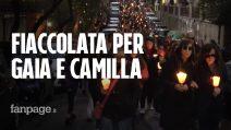Roma, fiaccolata per Gaia e Camilla. Il papà Edward: 'Tanti giovani, mi danno conforto'