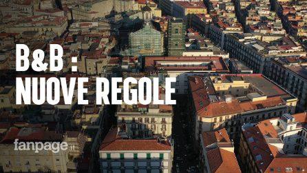 """B&B, De Magistris annuncia """"Nuove regole, tetto massimo alle strutture in un solo edificio"""""""