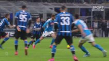 Coppa Italia, Inter-Napoli 0-1: highlights e gol della semifinale di andata