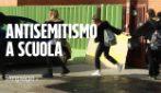 """Pomezia, scritte antisemite davanti a scuola. I ragazzi reagiscano: """"Il fascismo non è un'opinione"""""""