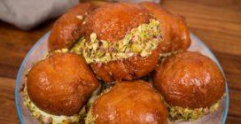 Bombas de pistache: cremosas e cheias de sabor!