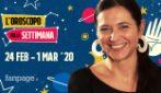 L'oroscopo settimanale di Ginny dal 24 febbraio al 1 marzo 2020