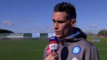 """Napoli, Callejon: """"Con il Barcellona servono due partite perfette"""""""