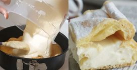 Torta Karpatka, il dessert polacco che si scioglie in bocca