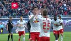 Bundesliga: Lipsia-Werder Brema 3-0 nel segno di Schick: gol e highlights