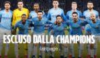 Manchester City escluso dalla Champions League per due edizioni e multa di 30 milioni di euro