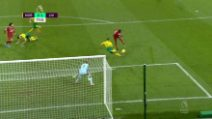 Premier League, Norwich-Liverpool 0-1: gol e highlights