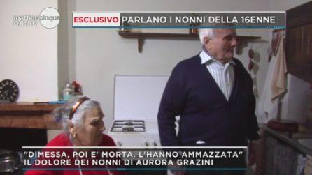 """Caso Aurora Grazini, il dolore dei nonni della 16enne morta dopo le dimissioni: """"L'hanno ammazzata"""""""