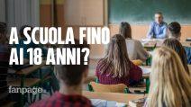 Scuola, la proposta allo studio del governo: obbligo scolastico dai 3 ai 18 anni