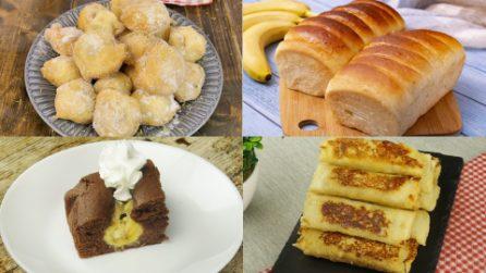 Ecco come preparare dei dessert golosi con delle semplici banane!