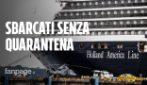 Covid-19, sulla nave Westerdam un infetto: passeggeri sbarcati senza quarantena, 5 italiani a bordo