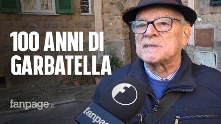 """Garbatella fa 100 anni, Adelio racconta: """"Vivo qui dal '35, ricordo i bombardamenti sul quartiere"""""""